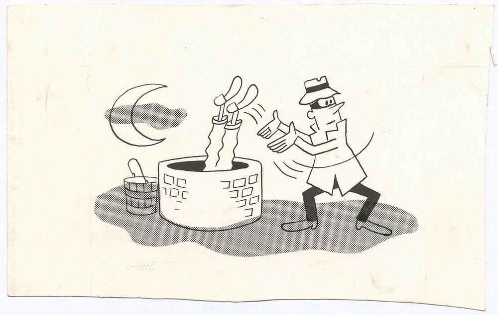 bucket drawing video